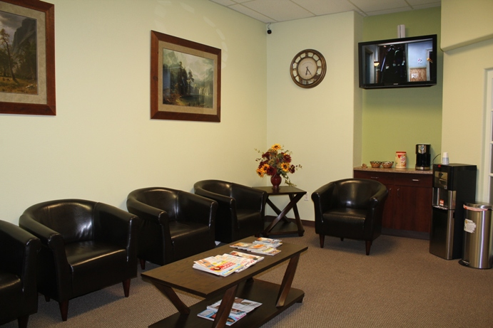 Dentist Fresno Reception